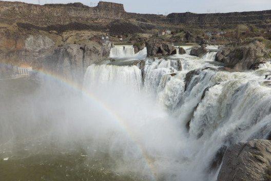 """Die Shoshone Falls zeigen schnell, warum sie """"Niagara of the West"""" genannt werden."""