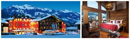 Hotel Kitzhof Mountain Design Resort, Kitzbühel, Österreich. (Bild: Hotel Kitzhof)