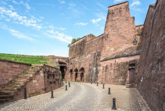 Die Zitadelle von Belfort von innen. (Bild: milosk50 – shutterstock.com)