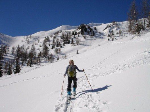 Dank ihrer grossen Ausdehnung sind die Appalachen trotz des hohen Tourismus-Aufkommens nicht überlaufen und bieten genügend Platz für einsame Skiwanderungen.