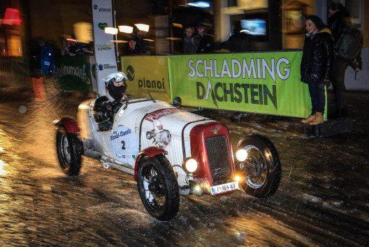 """Die legendäre """"Planai-Classic"""" für Automobile und Skilegenden geht in Schladming-Dachstein bereits zum 20. Mal über die Bühne. (Bild: Martin Huber)"""