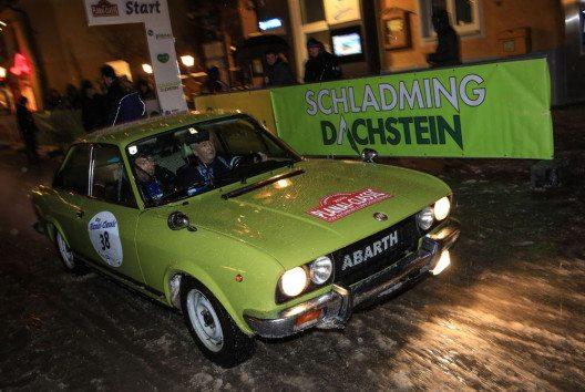 """Viele Legenden aus dem Ski- und Autorennzirkus nehmen an der Nostalgie-Rallye """"Planai-Classic"""" am 7. und 8. Jänner teil. (Bild: Martin Huber)"""