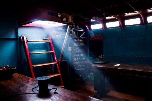 So wird bei Rum und Kerzenschein so mancher Seemannsgarn gesponnen.