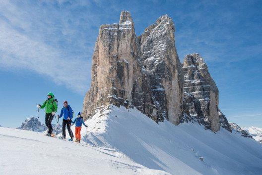 Schneeschuhwandern im Hochpustertal (Bild: Tourismusverband Hochpustertal / Harald Wisthaler)