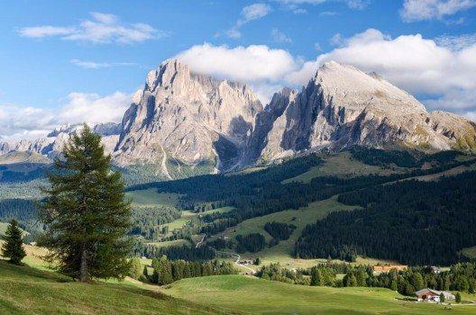 Seiser Alm in den Südtiroler Dolomiten (Bild: © Michael Thaler - shutterstock.com)