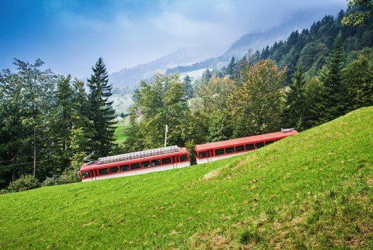 Die Rigi Bahnen AG erfreut sich im 2015 einem Rekordwert von 785'000 Besuchern. (Bild: Mariia Golovianko – Shutterstock.com)