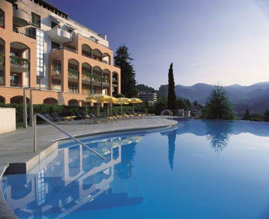 Das Villa Sassa Hotel, Residence & Spa ist Quartier des Trainingcamps der Schweizer Nationalmannschaft.