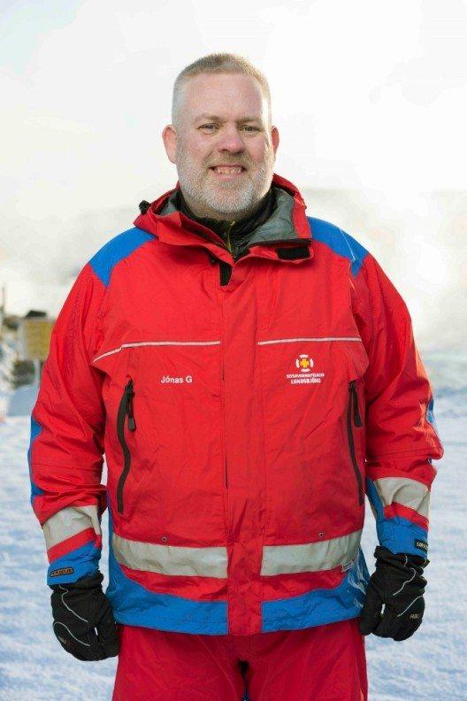 """Der Kurs """"Sicherheit in Island"""" mit Jónas Gudmundsson."""