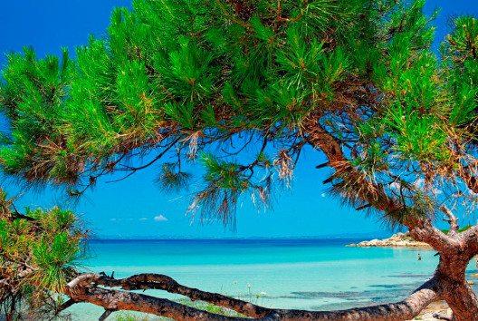 Türkisblaues Meer und weisse Sandstrände bilden einen beeindruckenden Kontrast. (Bild: Halkidiki Tourismboard)