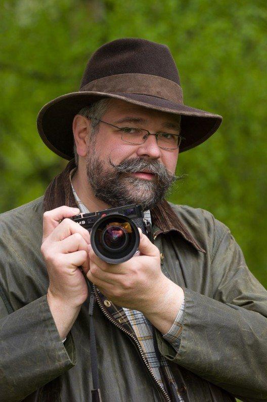Portrait des Autoren und Fotografen Klaus-Peter Kappest