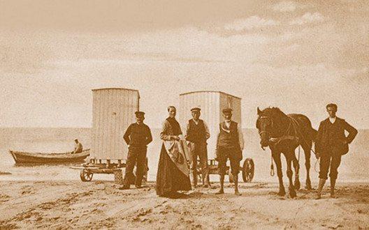 Noordwijk Badekutsche (Bild: Niederländisches Büro für Tourismus & Convention)
