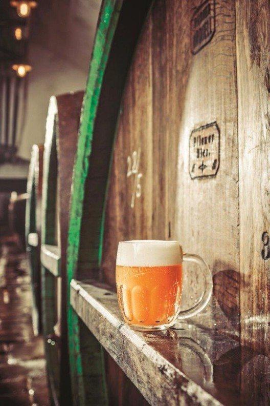 Nicht umsonst sind die Tschechen, gemäss Statistik, die fleissigsten Biertrinker – dicht gefolgt von den Deutschen. (Bild: © Hotelplan Suisse)