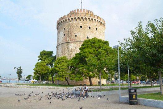 Weisser Turm Thessaloniki (Bild: Tourismboard Thessaloniki)