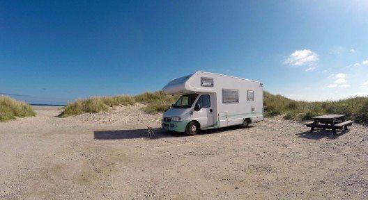 Der natürliche Weg, entspannte Ferien auf Römö zu verbringen, ist das Campen. (Bild: © Nagel's Blickwinkel - fotolia.com)