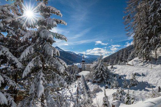 """Davos Klosters bietet einen """"Money Back Deal"""" für Schlechtwettertage. (Bild: Boris-B – Shutterstock.com)"""