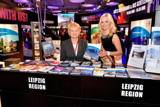 Werbung für die LEIPZIG REGION auf der ITB Berlin (Bild: © Bernd Görne)