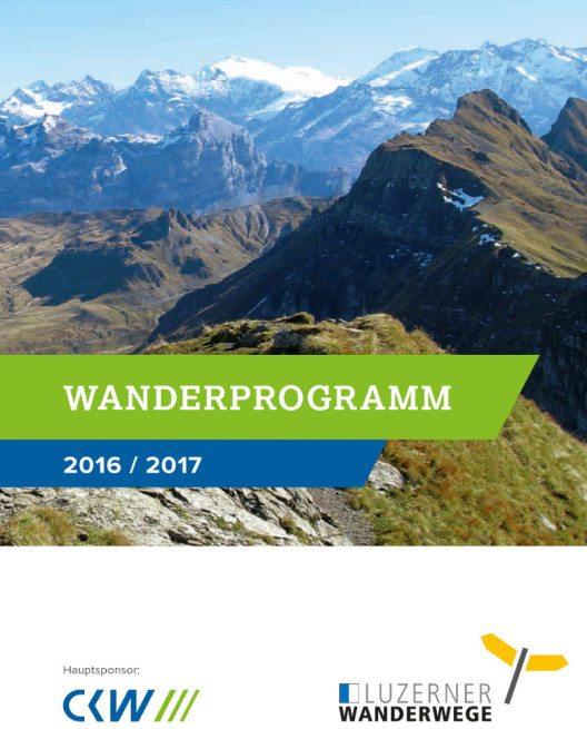 Seit 10 Jahren sind der Verein Luzerner Wanderwege und CKW gemeinsam erfolgreich unterwegs. (Bild: CKW)