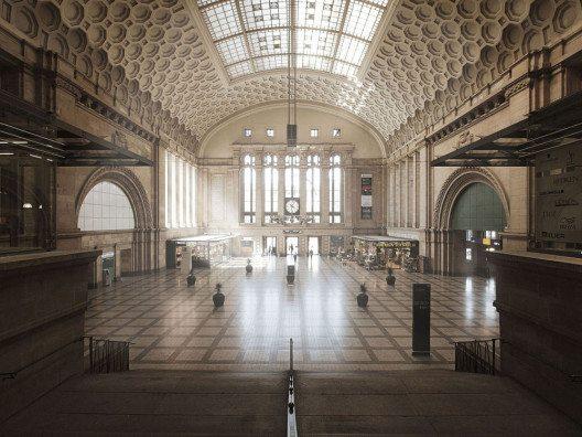 Hauptbahnhof Osthalle - Siegermotiv des Fotowettbewerbs 2015 (Bild: © Matthias Müller)