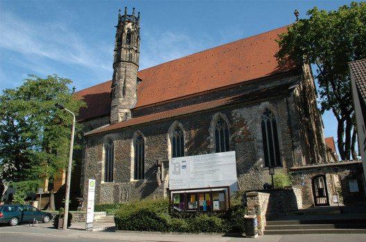 Augustinerkirche in der Augustinerstraße in Erfurt (Bild: TomKidd, Wikimedia, GNU)