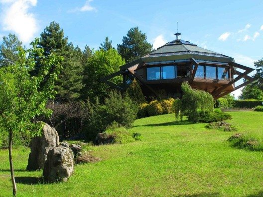 Futuristische Villa in Frankreich (Bild: © cotours)