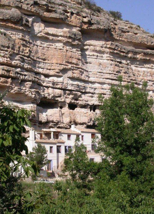 Grottenhaus im spanischen Albacete (Bild: © Belvilla)