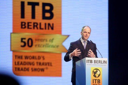 ITB Berlin 2016 - Eröffnungsfeier - Dr. Christian Göke, Vorsitzender der Geschäftsführung, Messe Berlin GmbH (Bild: © Messe Berlin)