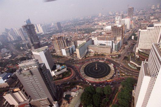 Zentrum von Jakarta