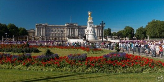 Windsor Castle und Buckingham Palace