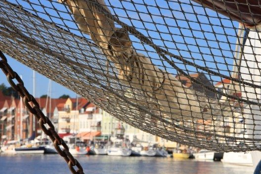 Dänemark, In der Segelwerft der Hafenstadt wurden bis 1850 die Hälfte aller dänischen Holzschiffe gebaut. (Bild: © Radurlaub ZeitReisen GmbH)