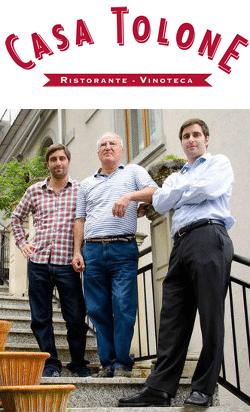 Von oben nach unten: Domenico, Franco und Dario Tolone. Urheber: wasserfuerwasser.ch