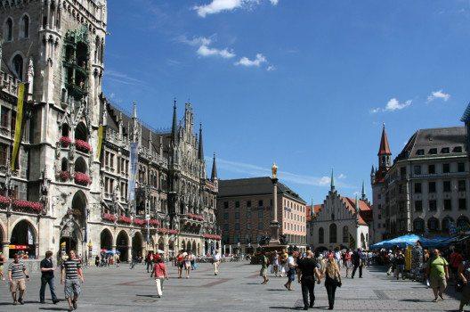 Marienplatz ist Münchens Nabel. (Bild: Tupungato – Shutterstock.com)