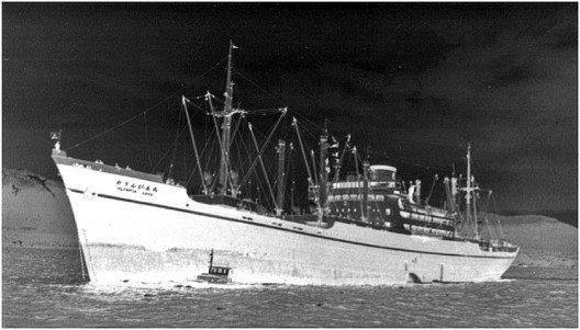 Die Olympia Maru war ein Frachter mit 122 Meter Länge und fast 17 Meter Breite. (Bild: Atlantis Dive Resorts & Liveaboards)