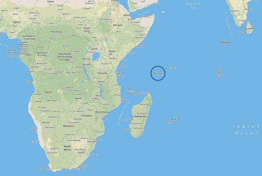 Geografische Lage der Seychellen (Bild: SeyVillas)