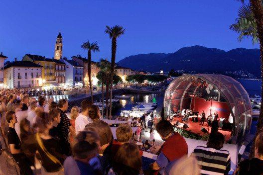 Bühne am Festival JazzAscona (Bild: JazzAscona / Pedrazzini)