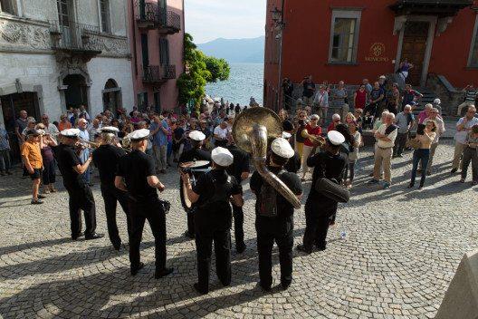 Marschkapelle am Festival JazzAscona (Bild: JazzAscona / Pedrazzini)