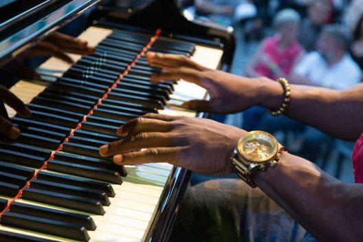 Pianomusik am Festival JazzAscona (Bild: JazzAscona / Pedrazzini)