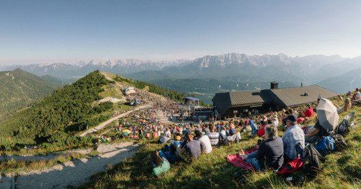 Bergfestival 2015 – Panorama. (Bild: Bayerische Zugspitzbahn Bergbahn AG, Magnus Winterholler)