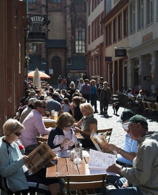 Gastronomie in der Altstadt (Bild: Heidelberg Marketing GmbH)