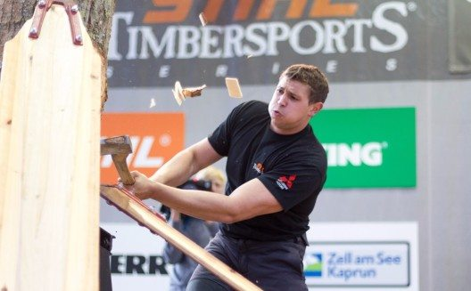 Sportholzfäller (Bild: © EXPA PicturesJFK)
