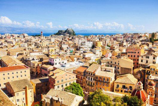 Die Altstadt von Korfu (Bild: Kite_rin – Shutterstock.com)