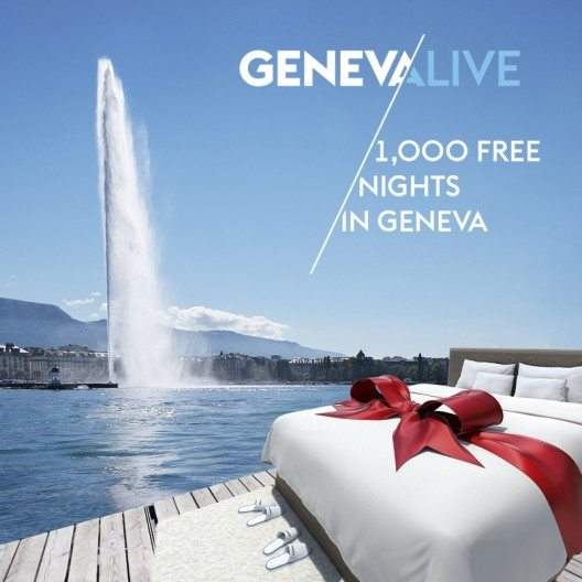 Tausend Gratisübernachtungen in Genf