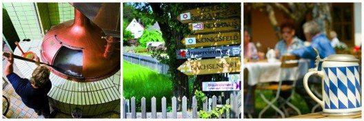 Die Fränkische Schweiz ist für ihre Vielzahl von Familienbrauereien bekannt
