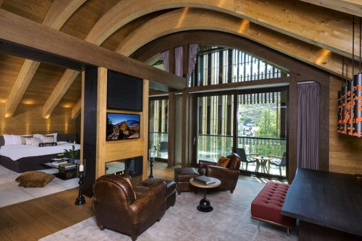 Gemsstock Suite (Bild: The Chedi Andermatt)