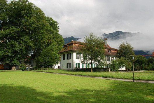 Schloss von Interlaken (Bild: Dietrich Michael Weidmann, Wikimedia, GNU)