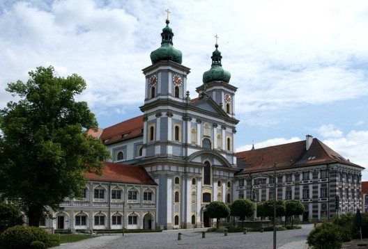 Die Abtei Waldsassen in Bayern (Bild: Aconcagua, Wikimedia, GNU)