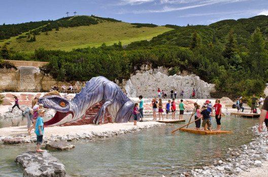Triassic Park Steinplatte Waidring (Bild: Bergbahnen Steinplatte)