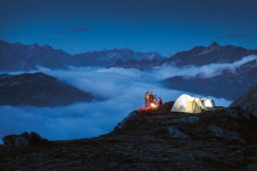 Alpines Campen (Bild: © Daniel Zangerl - Montafon Tourismus GmbH)