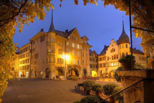 Bieler Altstadt ist ein mittelalterliches Kleinod. (Bild: Mihai-Bogdan Lazar – Shutterstock.com)