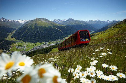 Davos Klosters zählt zu den bekanntesten Feriendestinationen der Welt.