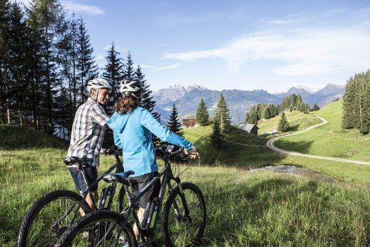 Silvretta E-Bike Safari (Bild: © Daniel Zangerl - Montafon Tourismus GmbH)